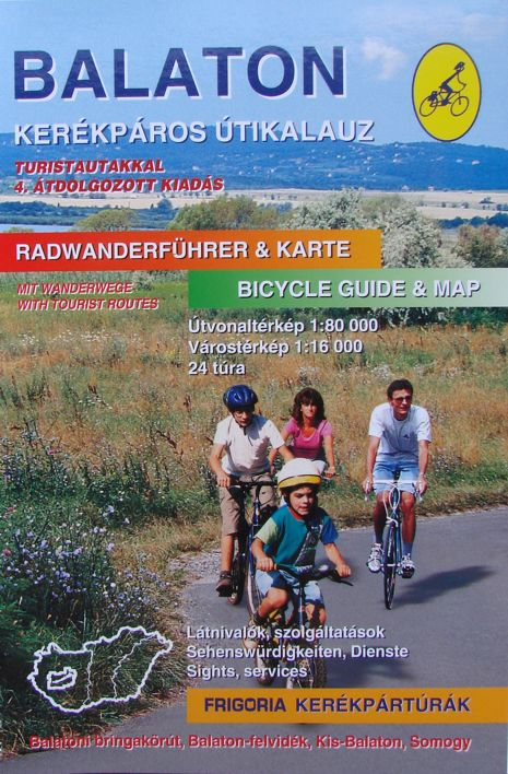 Balaton Bicycle Guide and Atlas