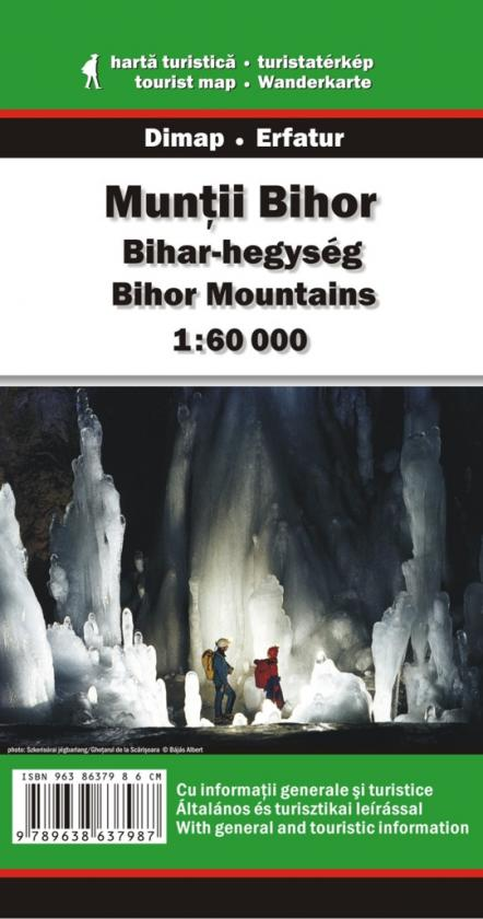 Bihor Mountains map