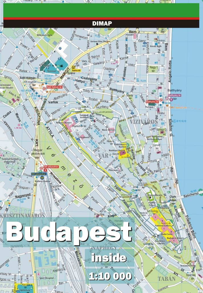 Budapest inside – digital map