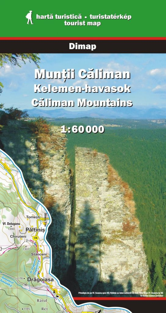 Caliman Mountains map