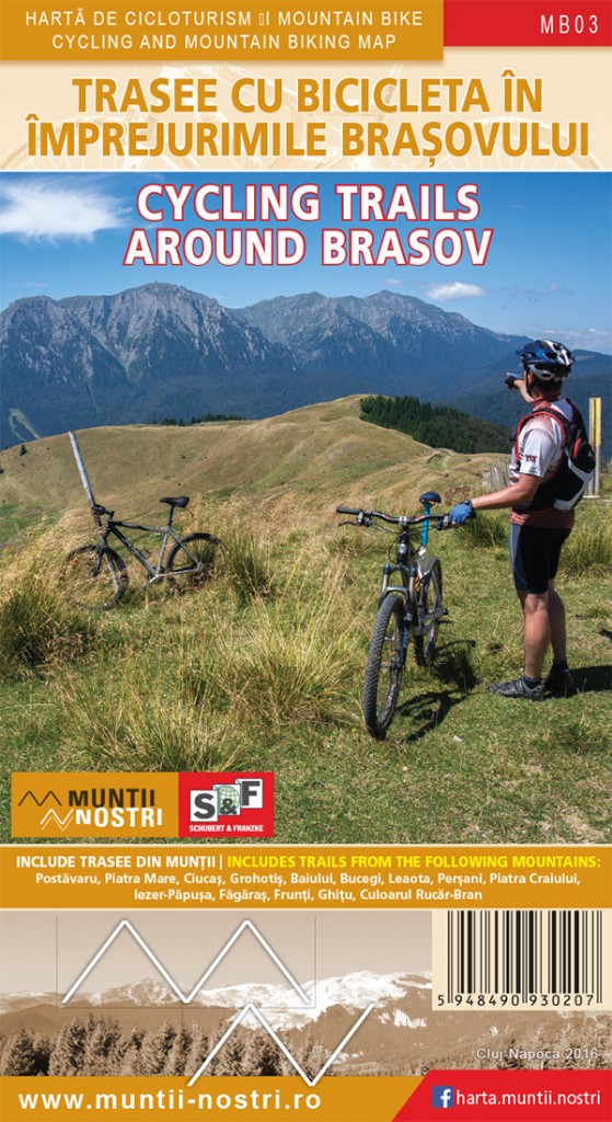 Cycling Trails around Brasov