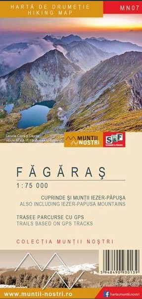 Fagaras Mountains maps