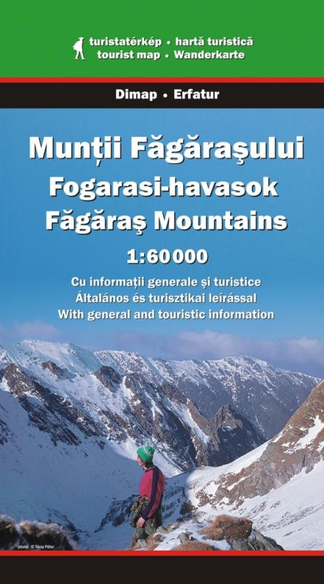Fagaras Mountains map