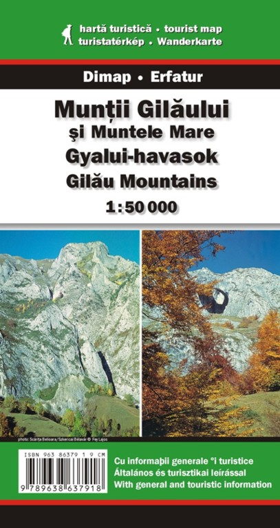 Gilau Mountains map