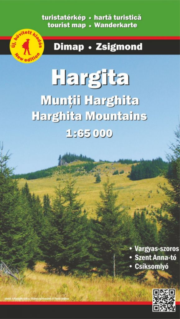 Harghita Mountains map