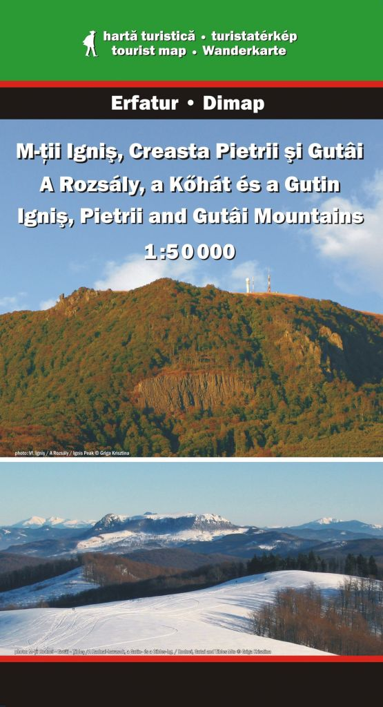Ignis, Pietrii and Gutai Mountains map