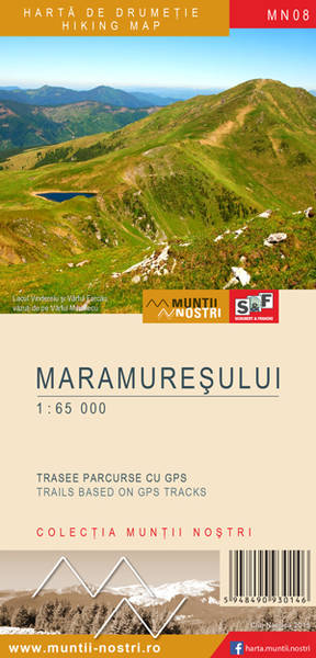 Maramuresului Mountains map