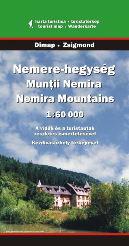 Nemira Mountains map
