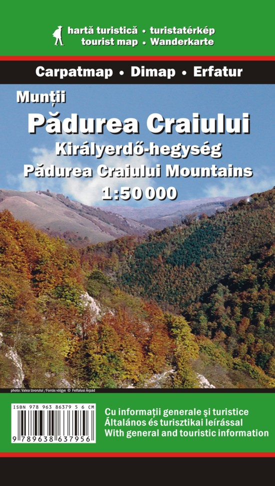 Padurea Craiului Mountains map