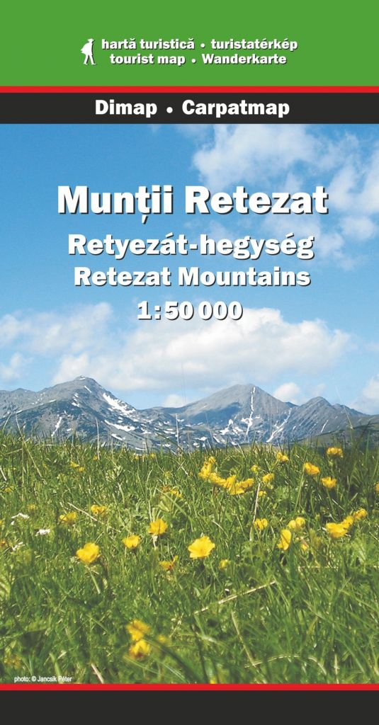 Retezat Mountains map