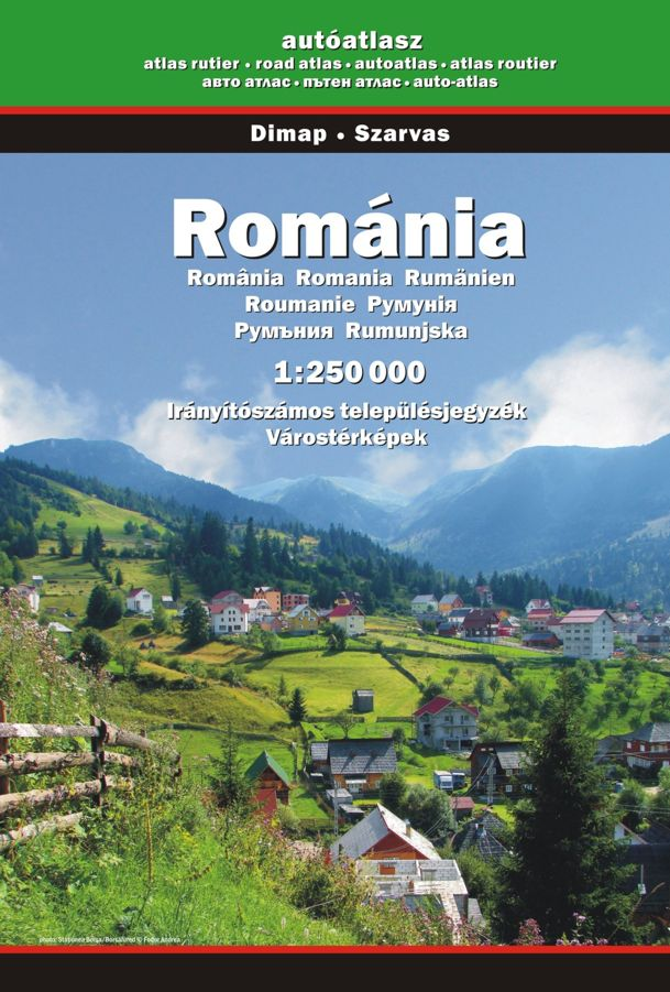 Road Atlas of Romania - digital version