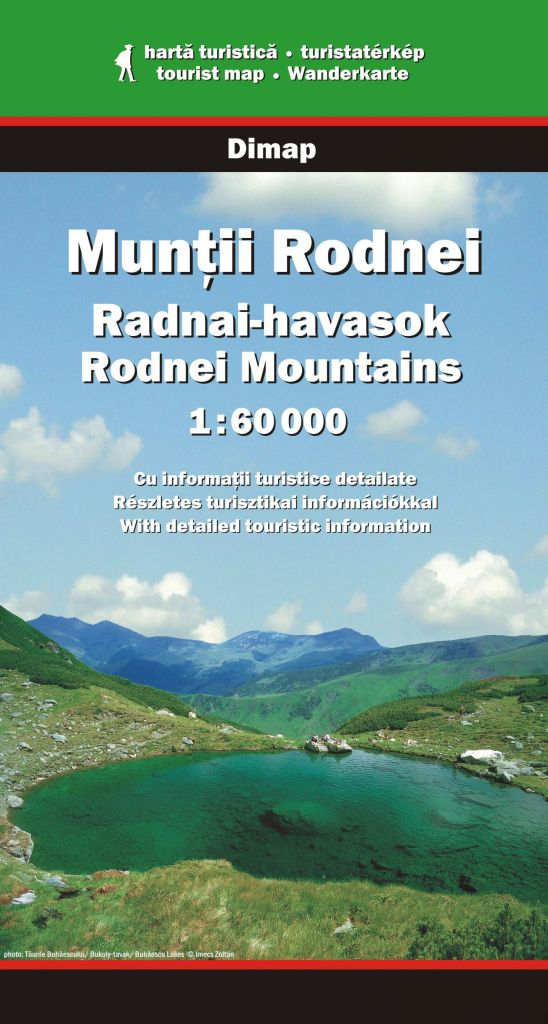 Rodnei Mountains map