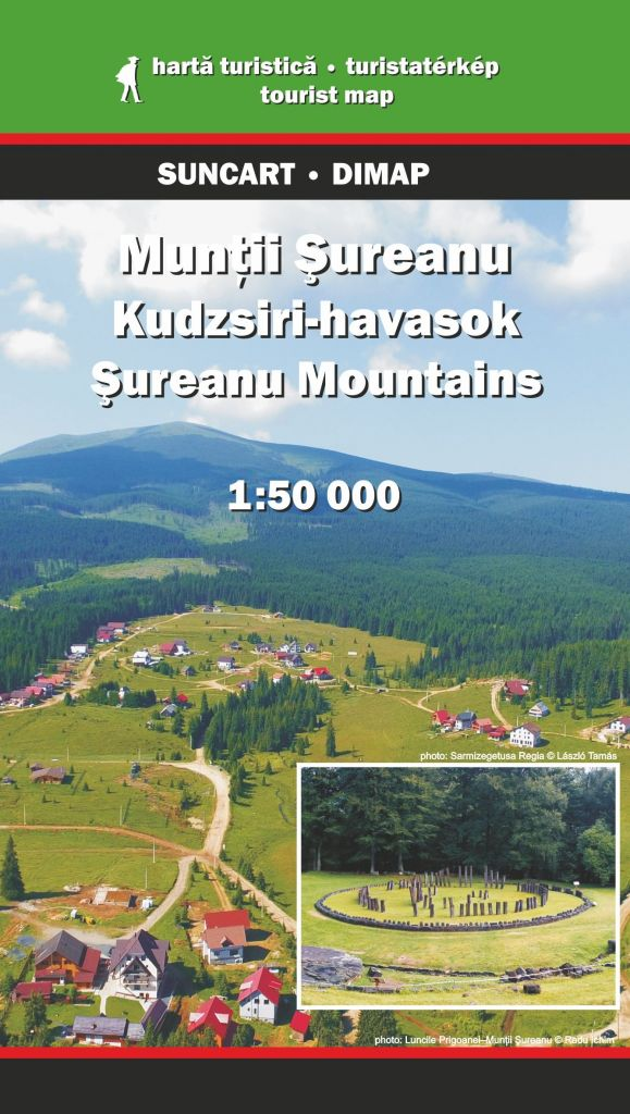 Sureanu Mountains map